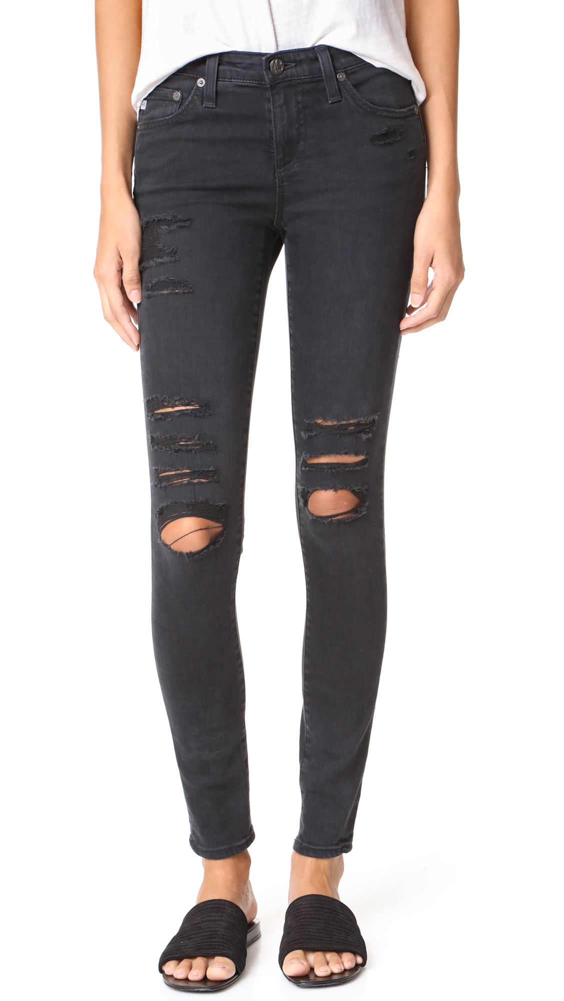 AG The Legging Ankle Jeans - 3 Years Requiem