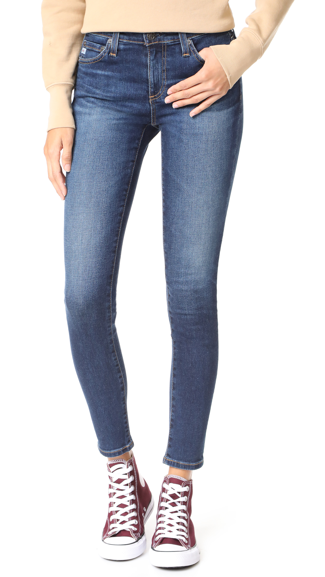 AG The Legging Ankle Jeans - 4 Years Rapids