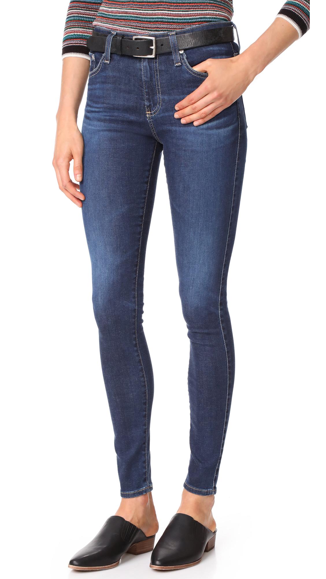 AG The Farrah Skinny Jeans - 6 Years Songbird