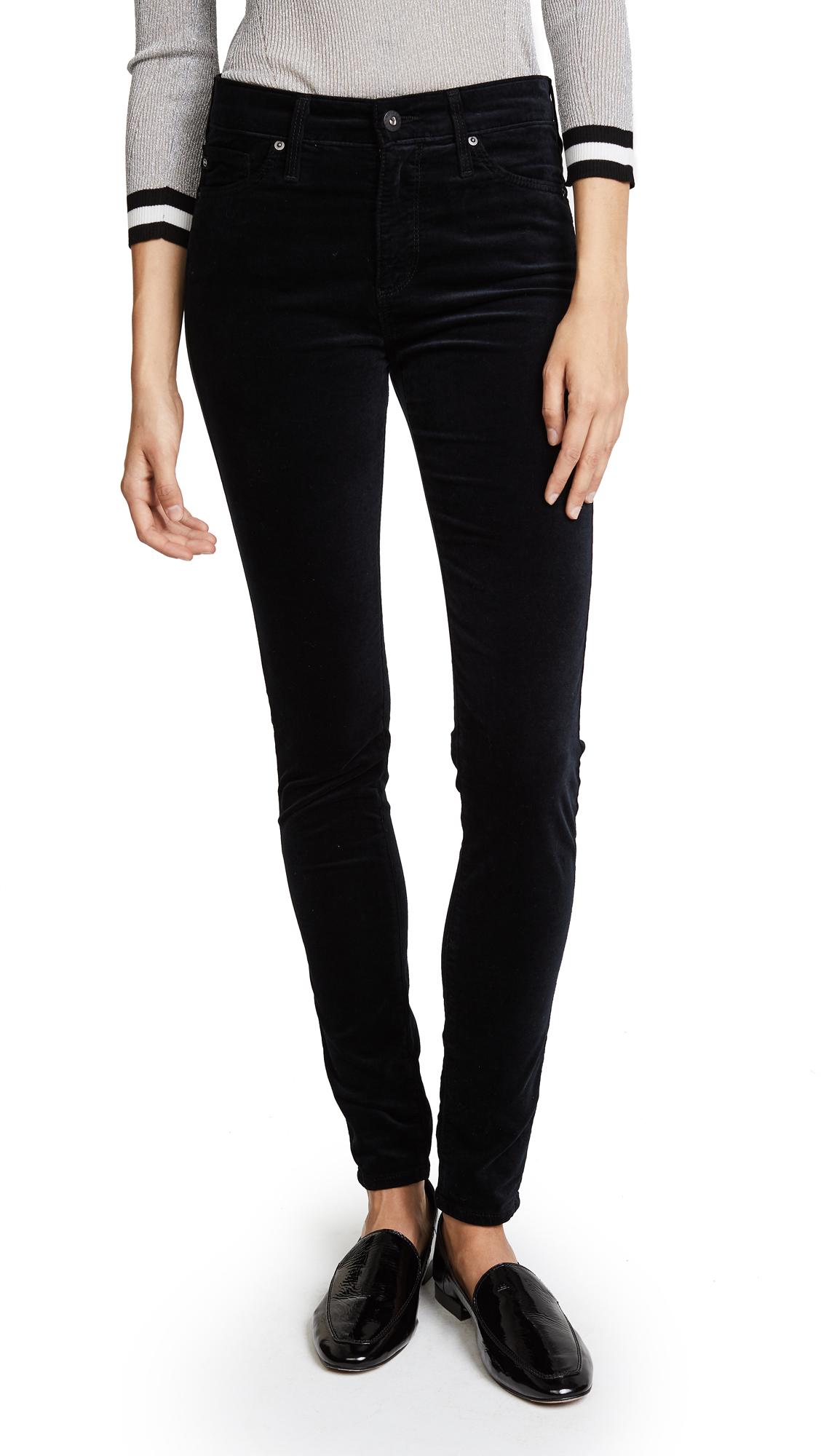 AG Farrah Skinny Velveteen Pants