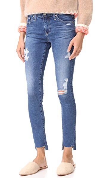 AG The Legging Ankle Jeans - 14 Years Radiant