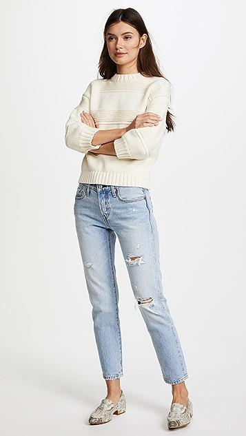 AG Sabrina Crew Sweater