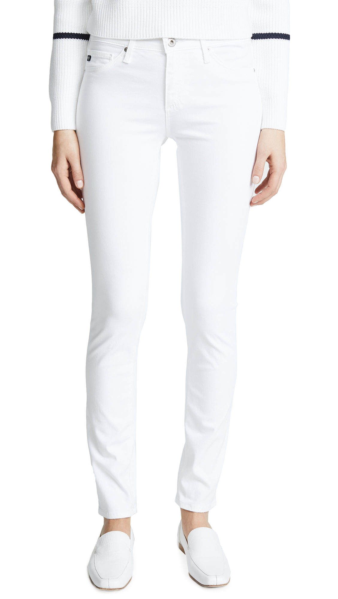 THE PRIMA SATEEN JEANS