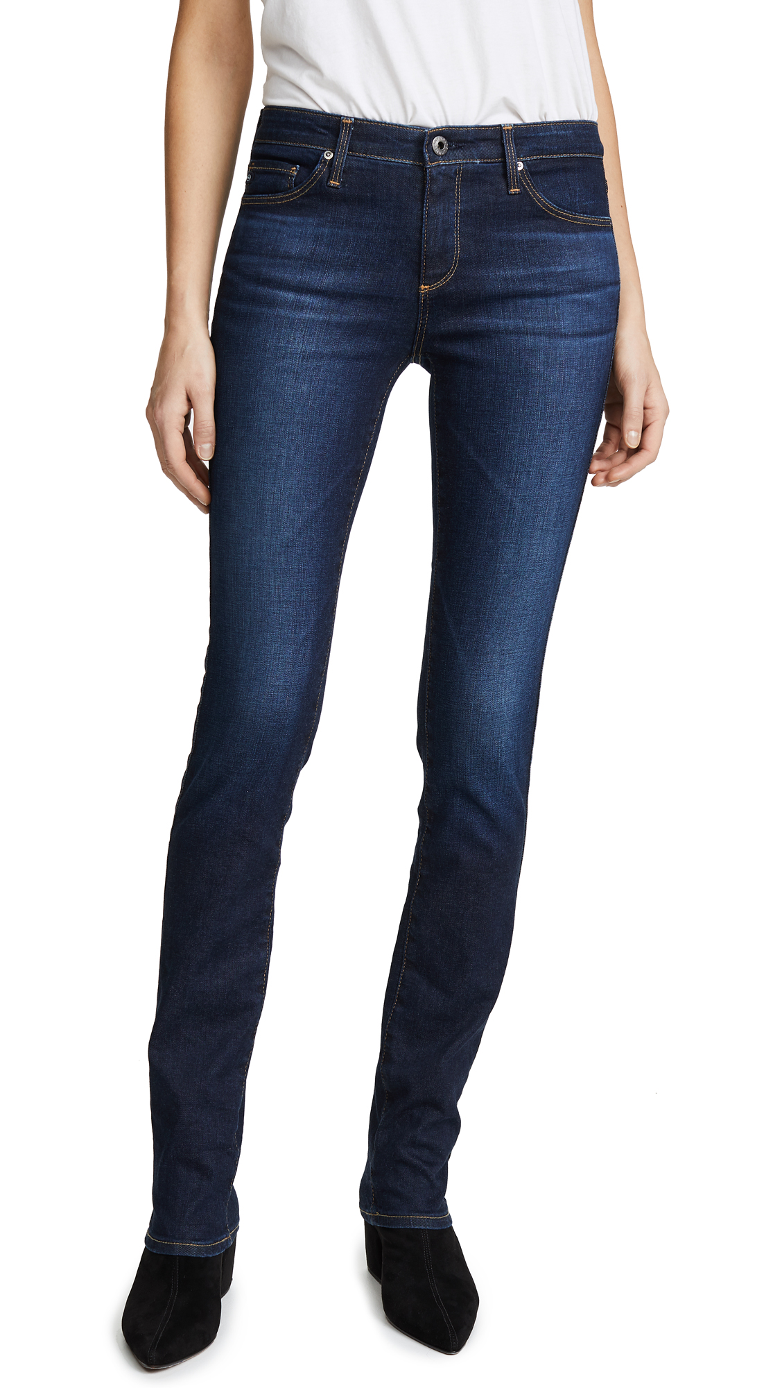 Harper Essential Straight Leg Jeans