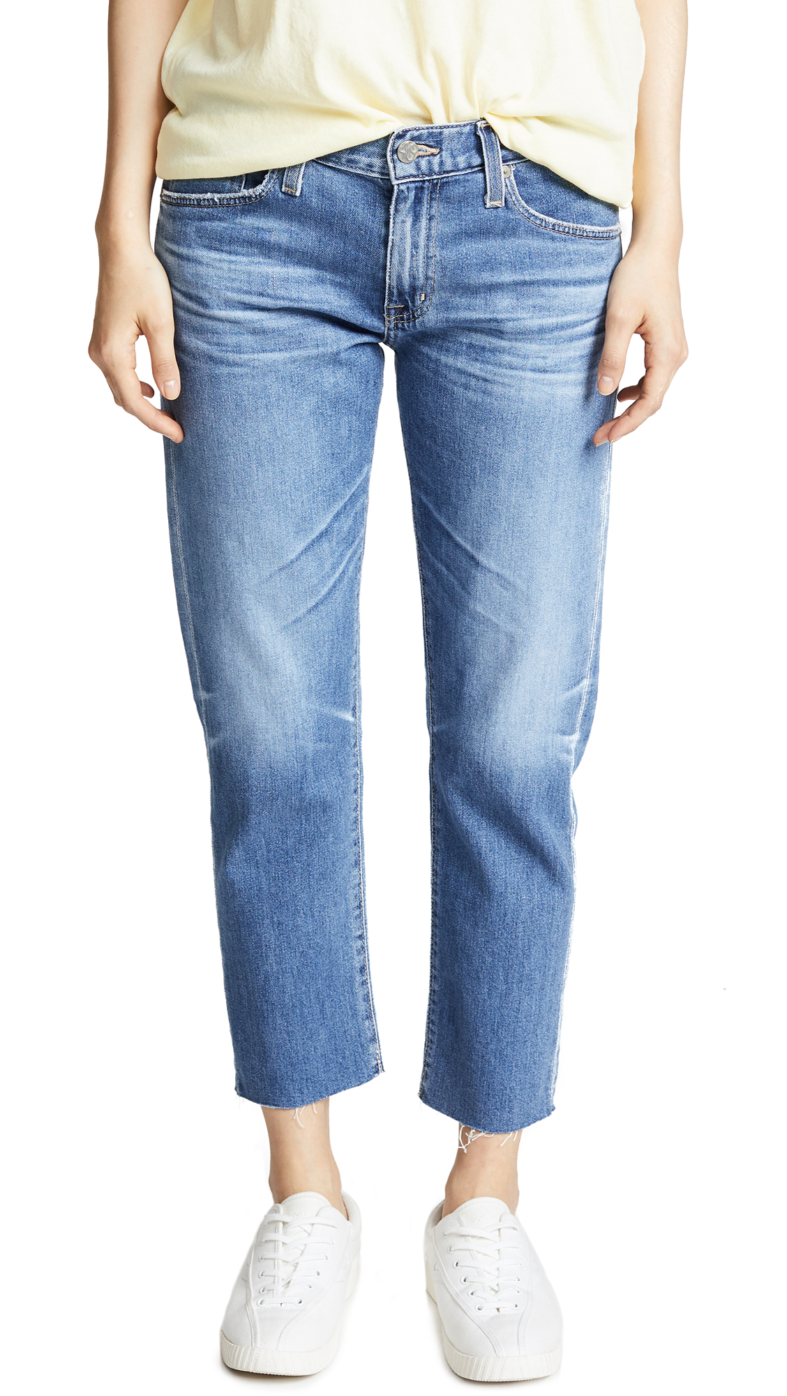AG Ex-Boyfriend Slim Jeans In 14 Years Foxtail