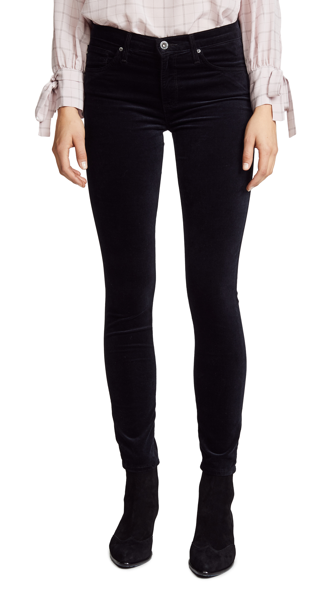 The Velvet Legging Ankle Skinny Jeans