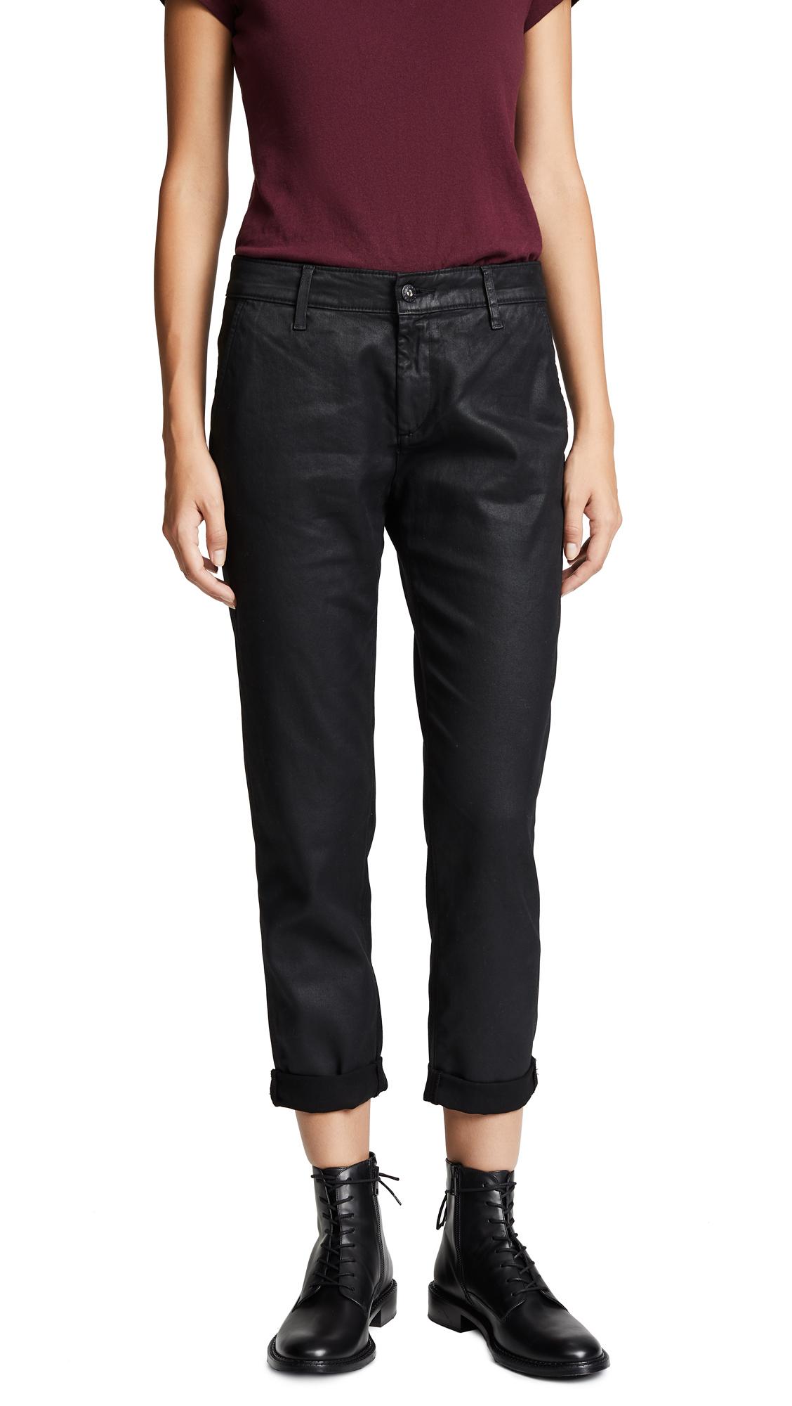 AG The Vintage Leatherette Caden Trousers