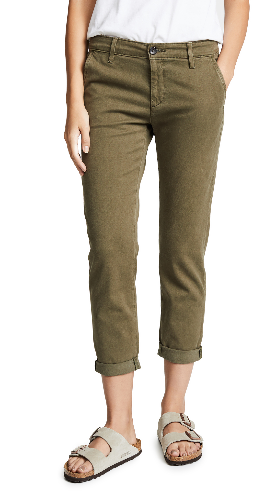 AG The Caden Trousers - Sulfur Dried Agave
