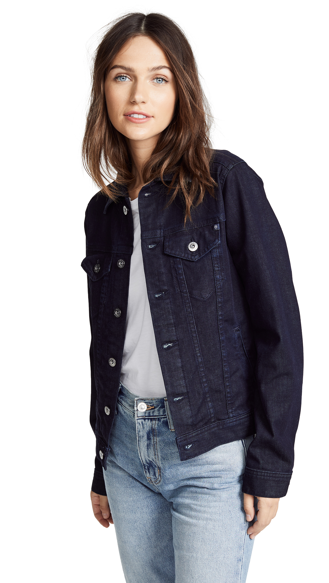 AG Mya Denim Jacket In Subterranean