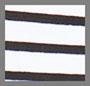 True White/True Black Stripe