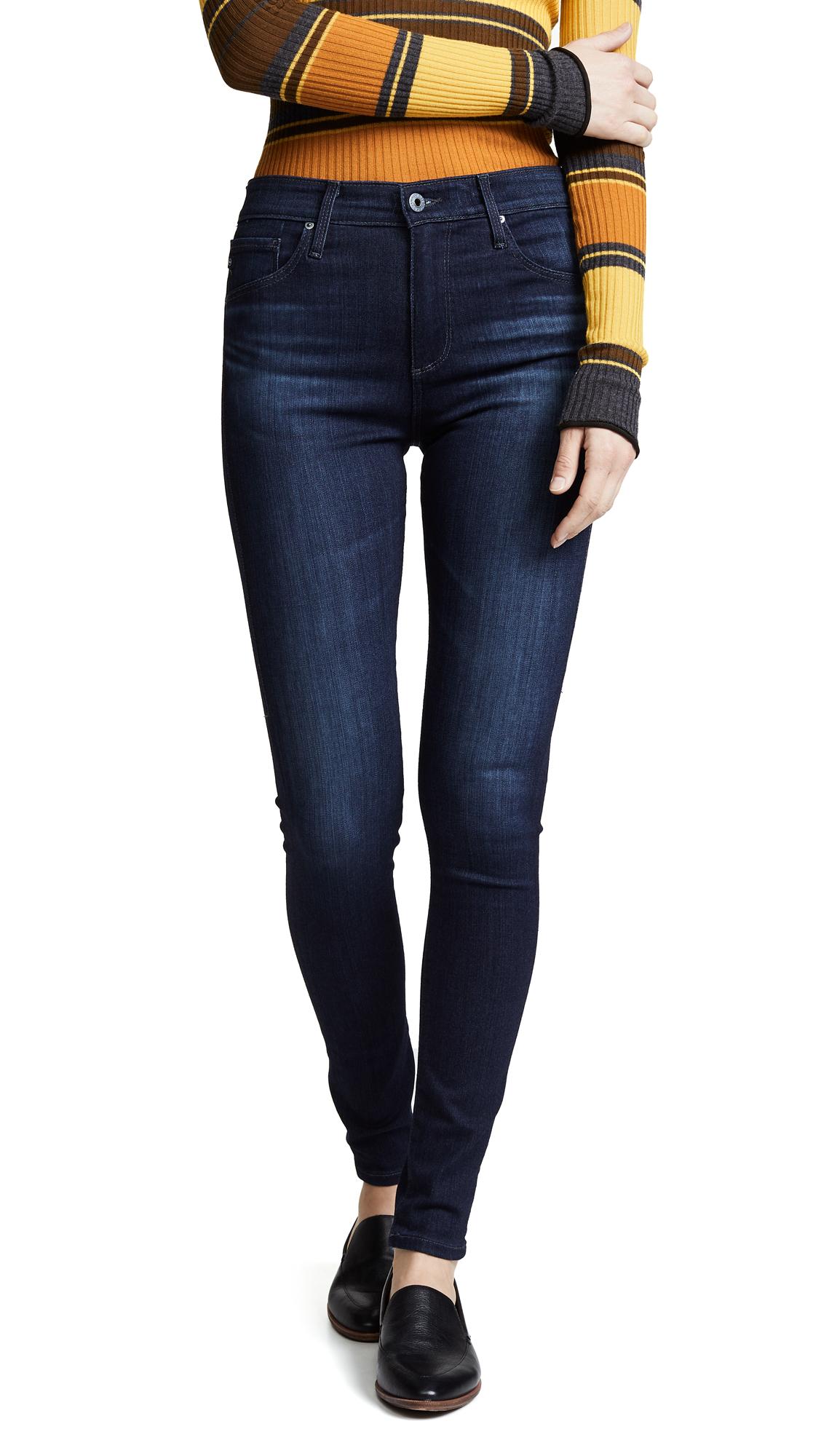 AG The Farrah High Rise Skinny Jeans - Brooks