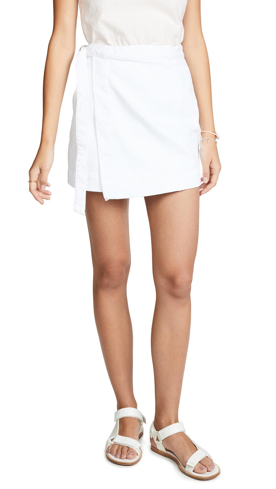 AG The Ahlaia Skirt - White