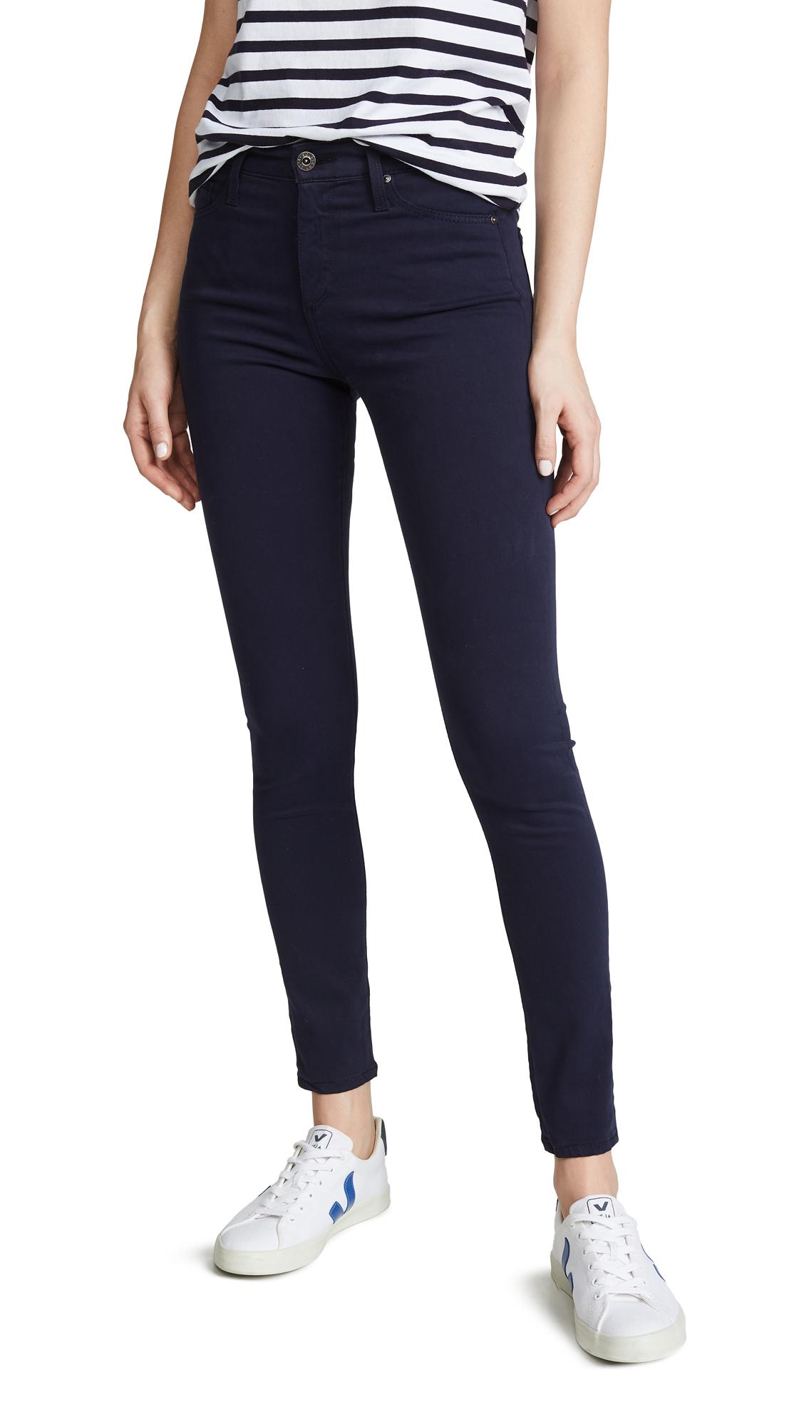 AG The Farrah Skinny Ankle Jeans - Indigo Ink