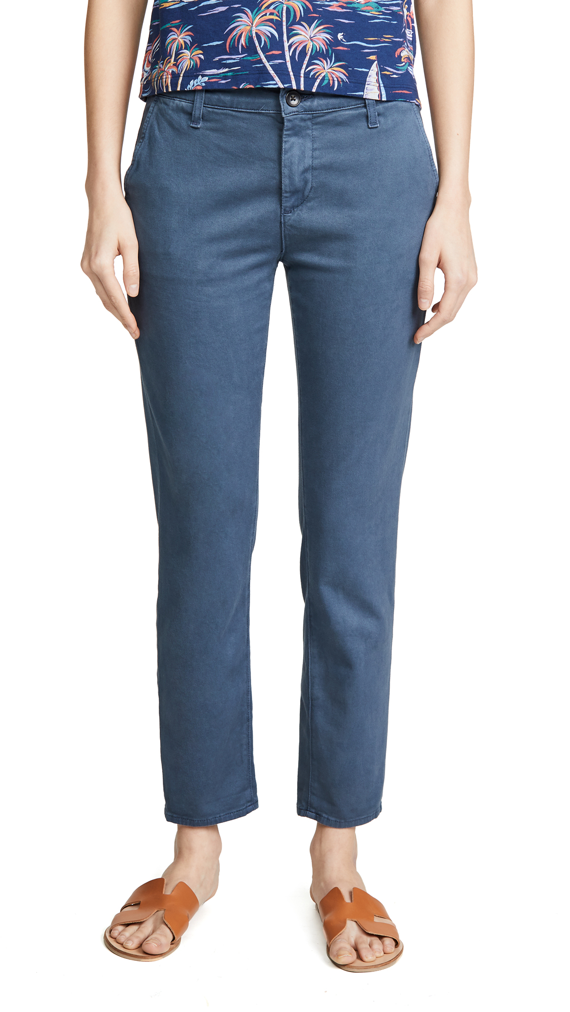 AG The Caden Tailored Trousers - Sulfur Sodalite Blue