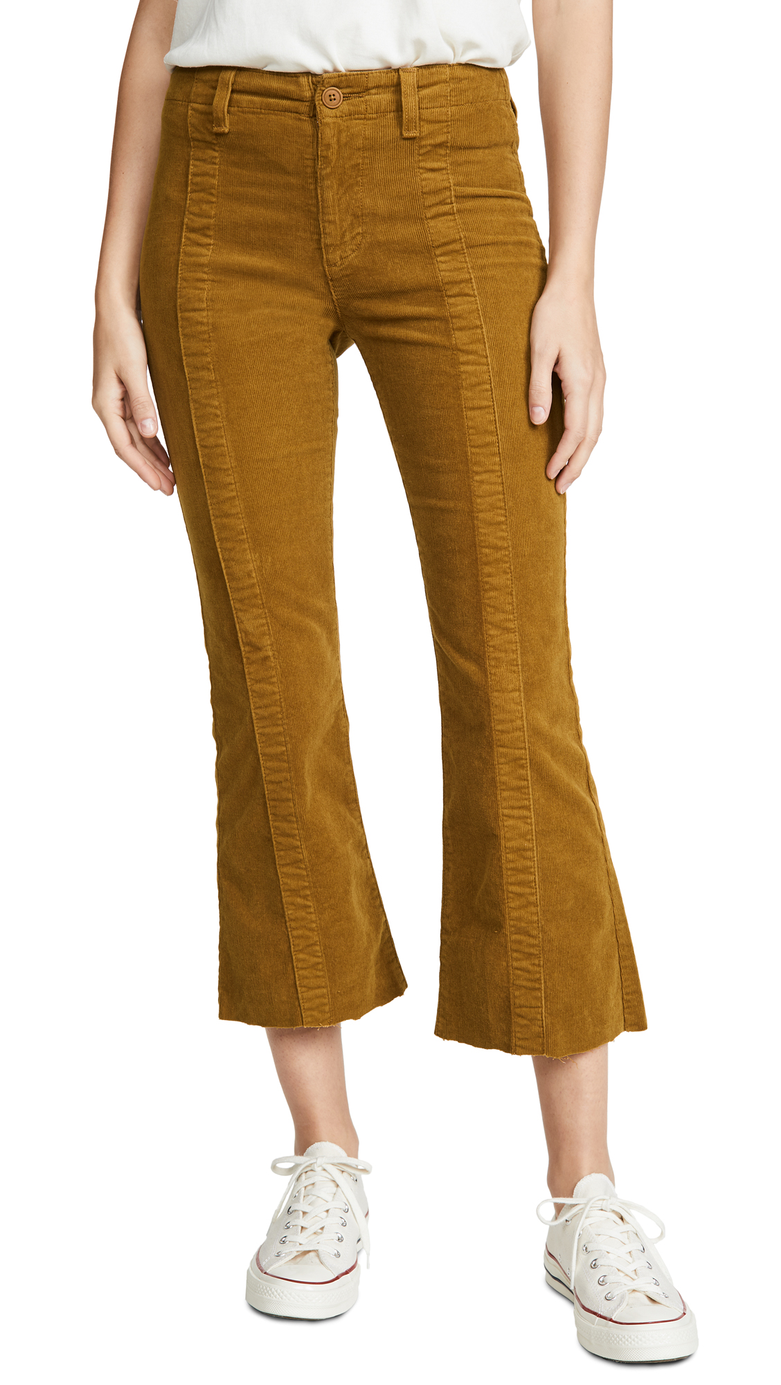 Buy AG online - photo of AG The Paneled Quinne Crop Pants