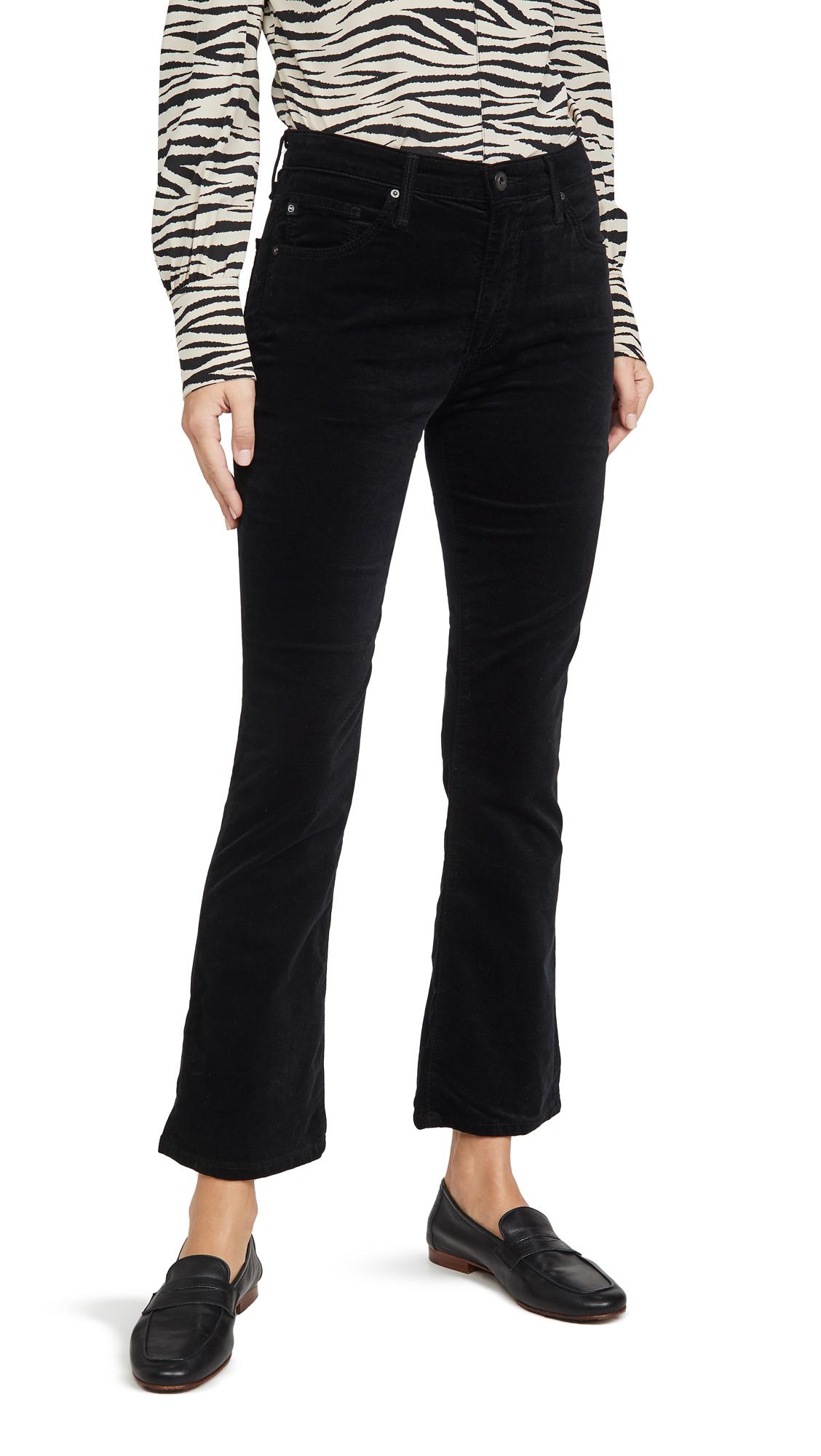 Buy AG online - photo of AG The Jodi Velvet Crop Pants