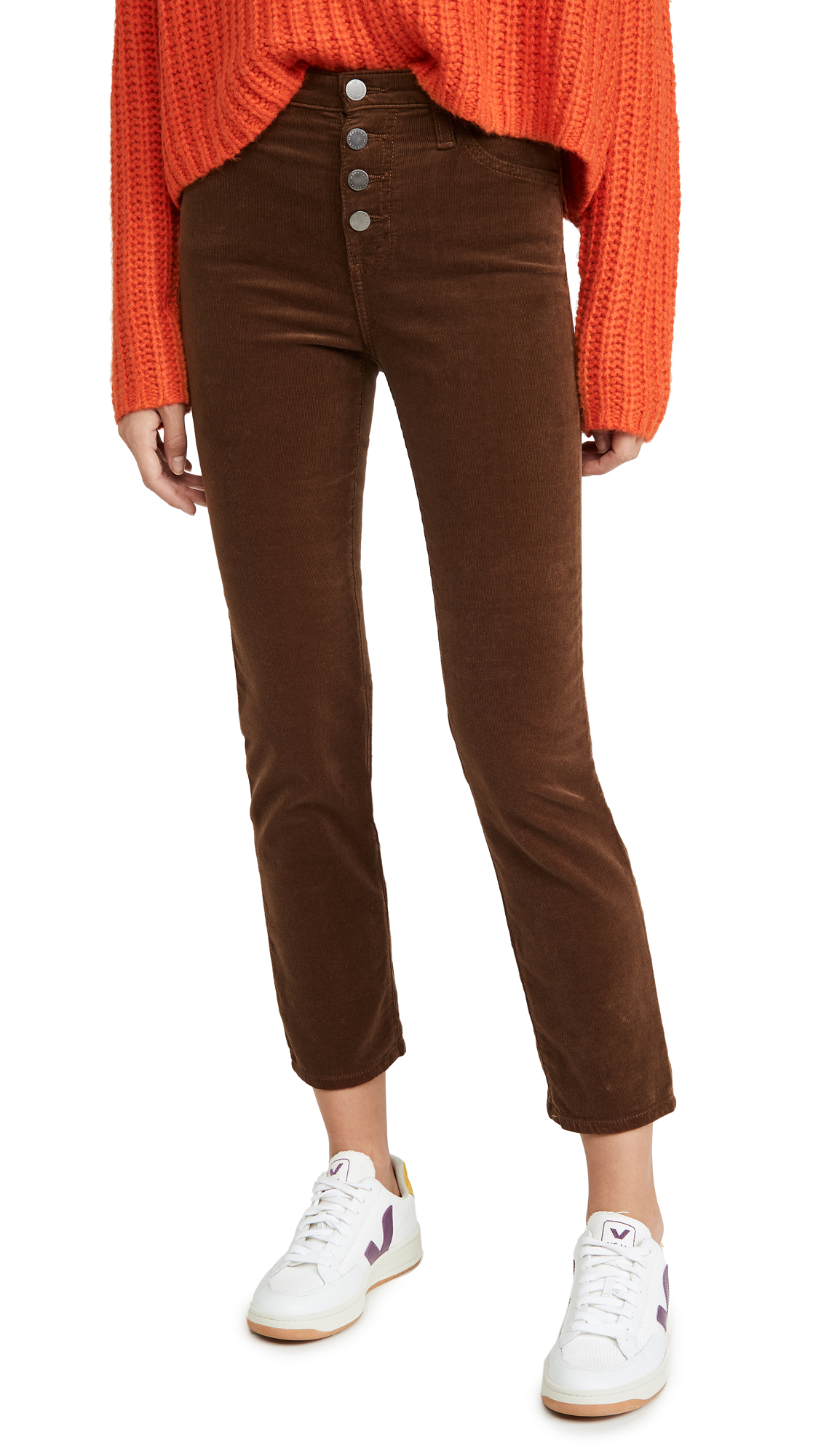 Buy AG online - photo of AG Isabelle Corduroy Button Up Pants