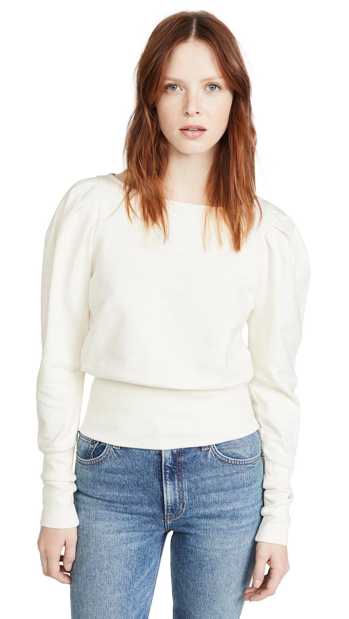 Buy AG online - photo of AG Walker Puff Sleeve Sweatshirt