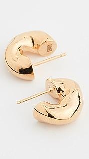 AGMES Маленькие серьги-кольца Dahlia