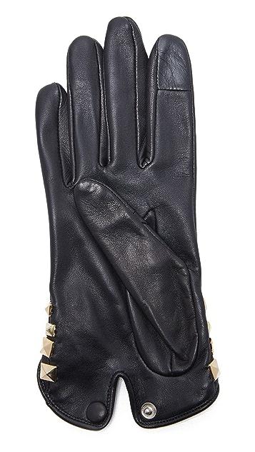 Agnelle Josie Pyramide Texting Gloves