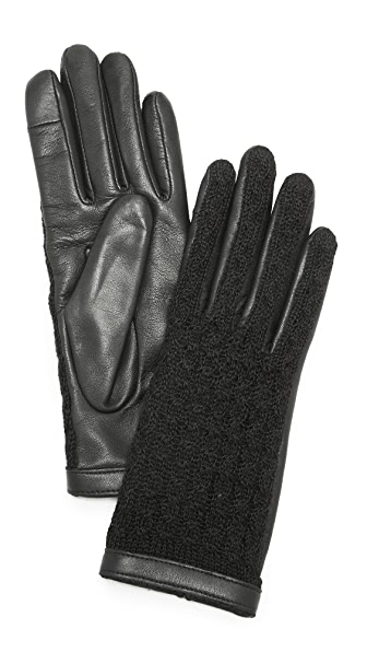 Agnelle Keiko Leather Gloves at Shopbop