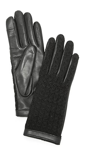 Agnelle Keiko Leather Gloves
