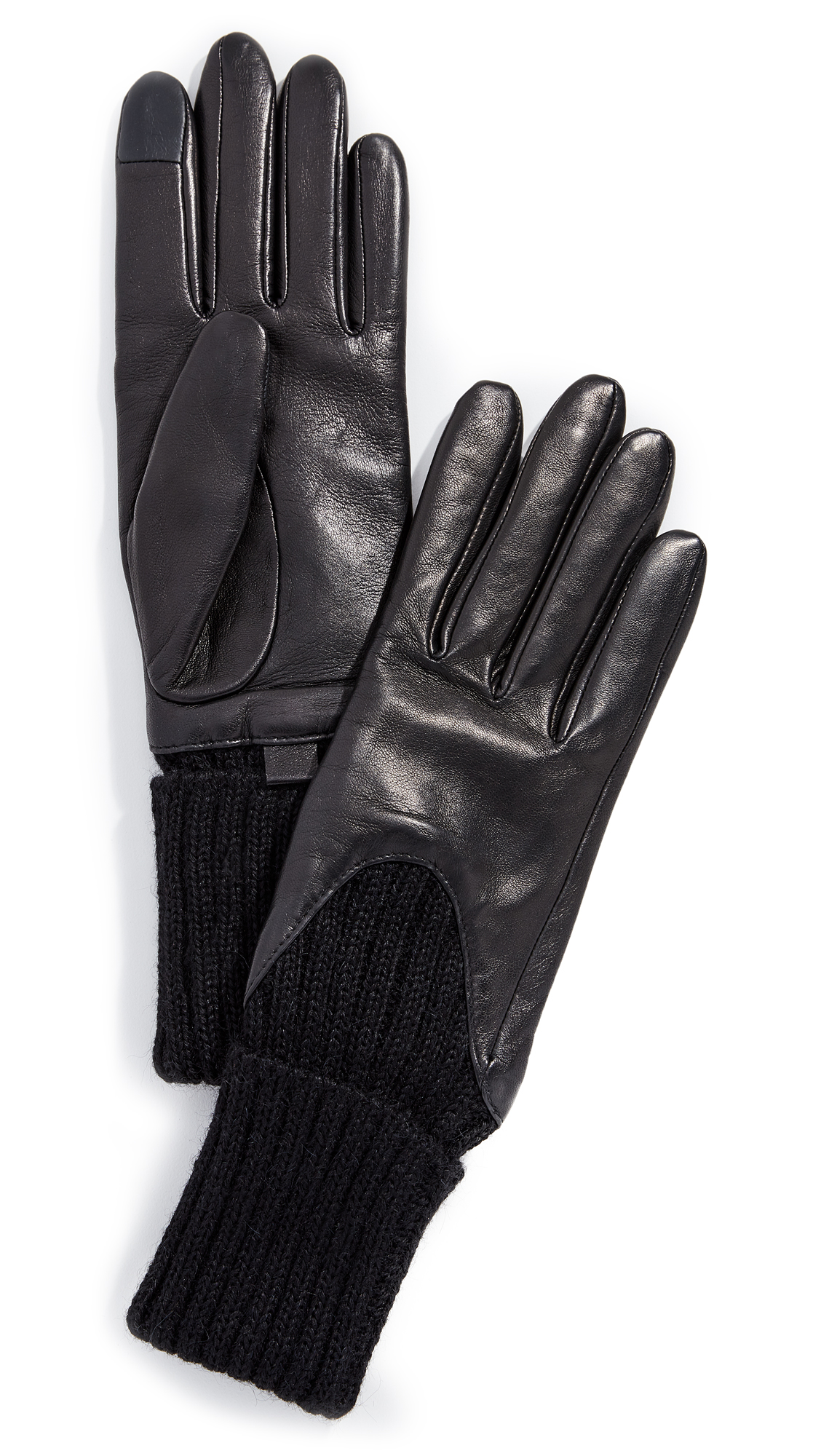 Agnelle Cecilia Gloves In Black