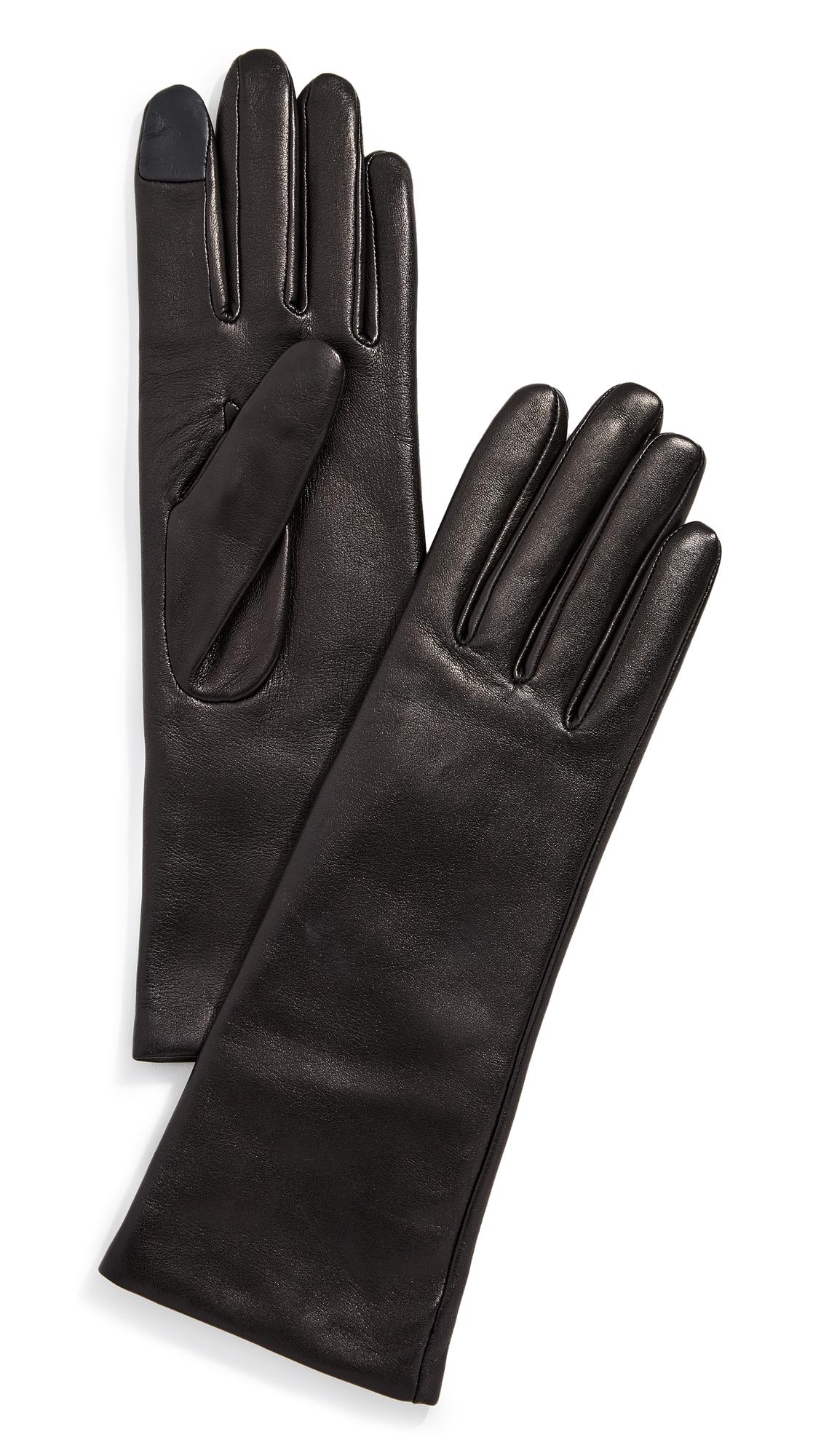 AGNELLE Christina Gloves, Black