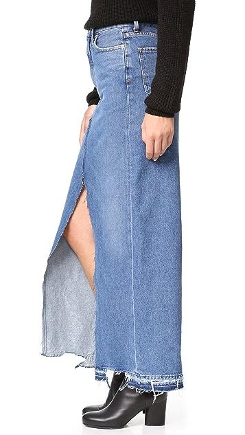 AGOLDE Piper '90s Grunge Skirt