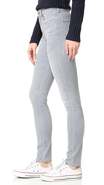 AGOLDE Sophie High Rise Skinny Jeans