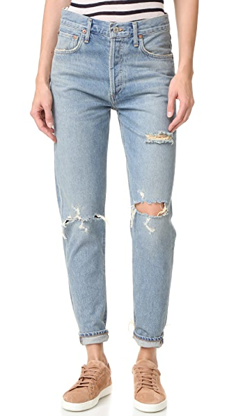 AGOLDE Jamie High Rise Classic Jeans at Shopbop