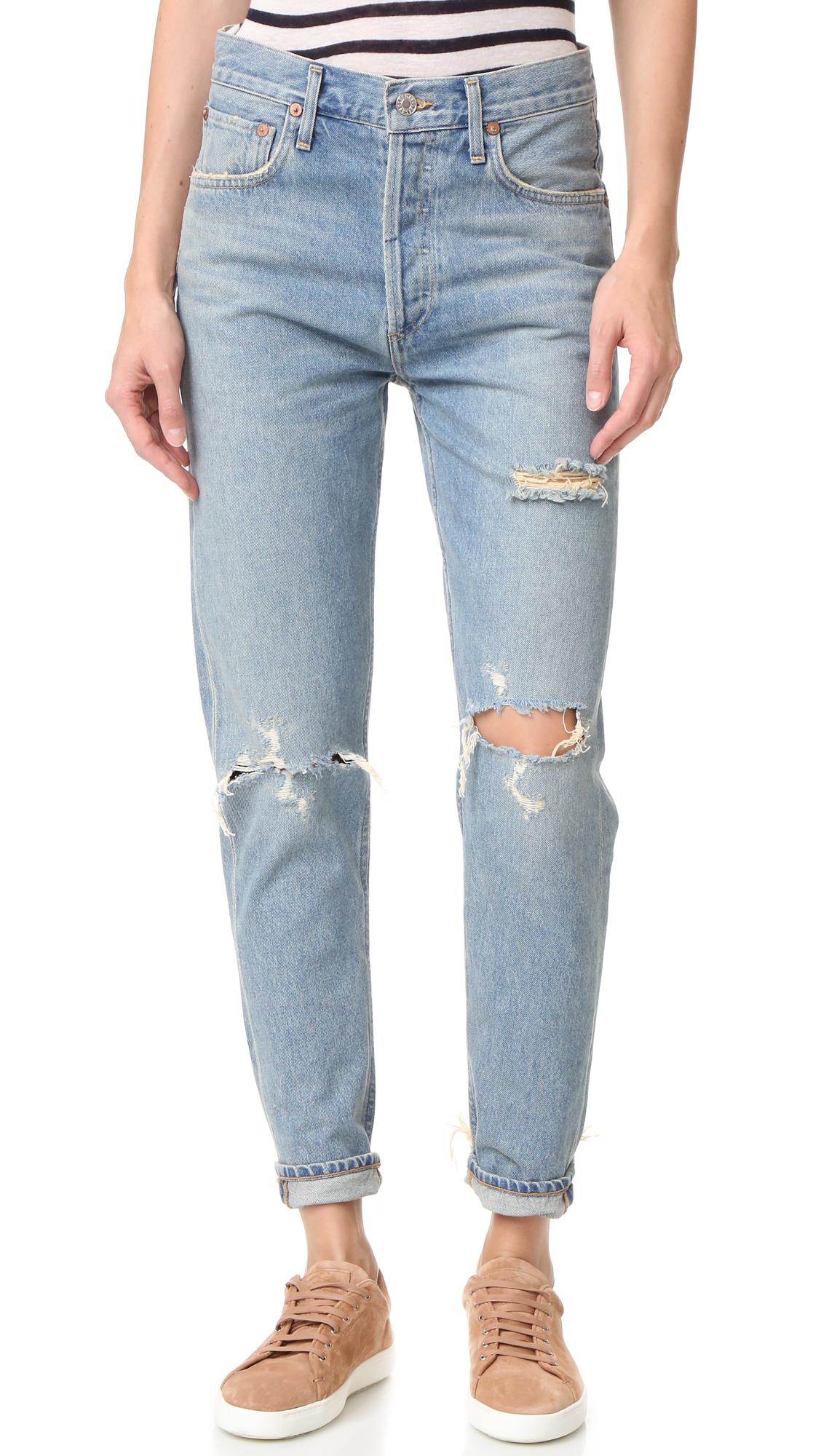 Distressed / Destroyed / Ripped Jeans
