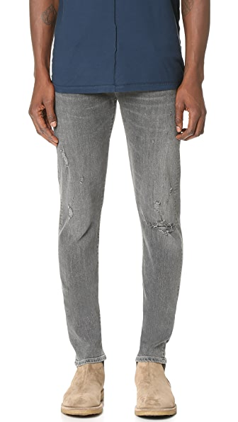 AGOLDE Super Skinny Bowery Jeans