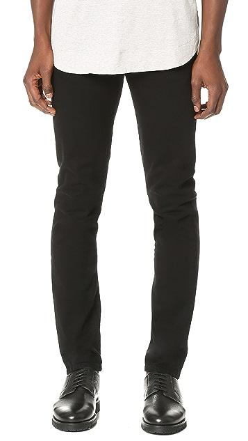 AGOLDE Skinny Black Jeans