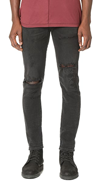 Ferg Super Skinny Grit Jeans