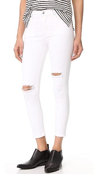 AGOLDE Sophie High Rise Skinny Crop Jeans