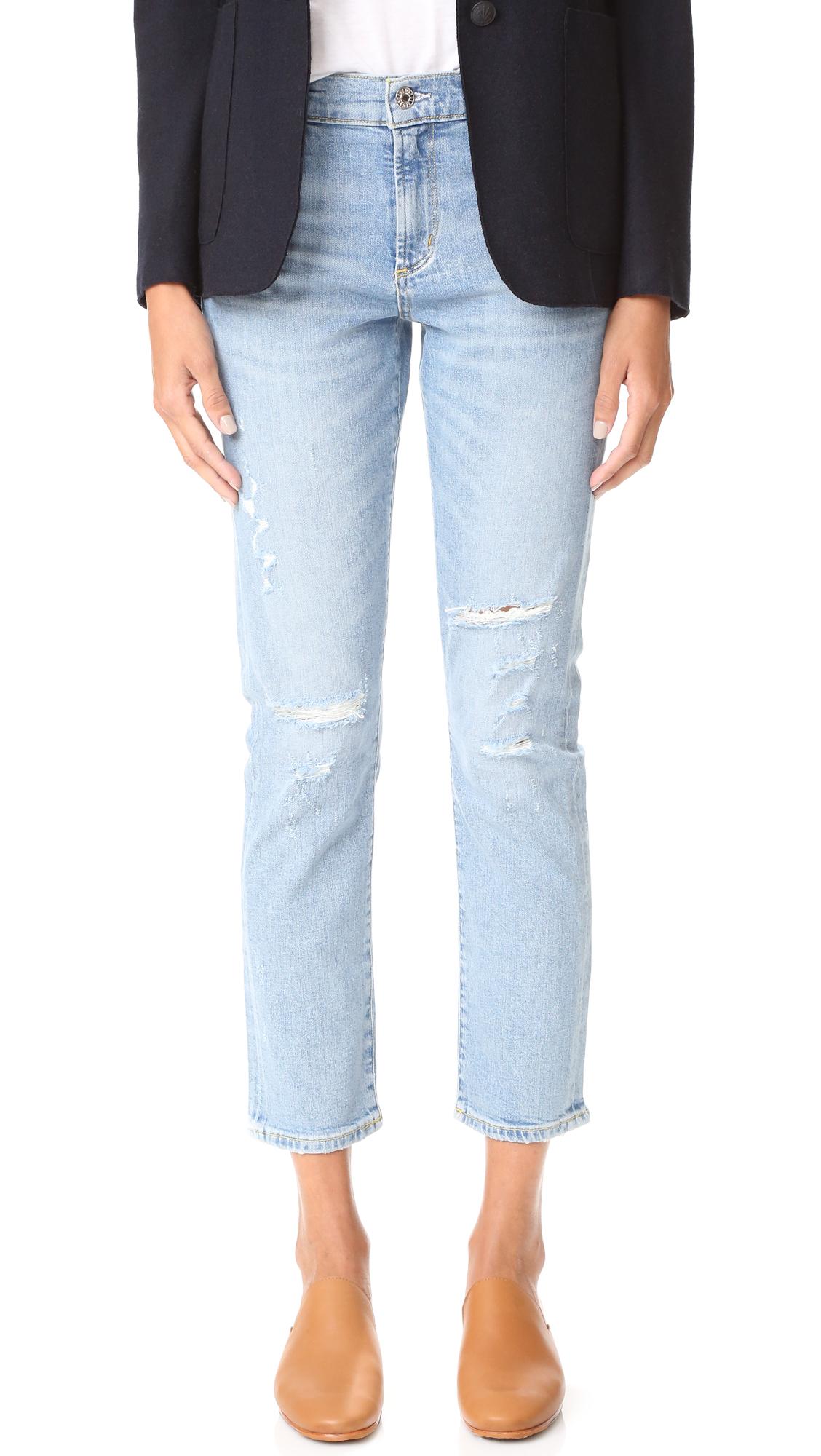 Agolde Isabel Slim Fit Boyfriend Jeans - Dreamer at Shopbop
