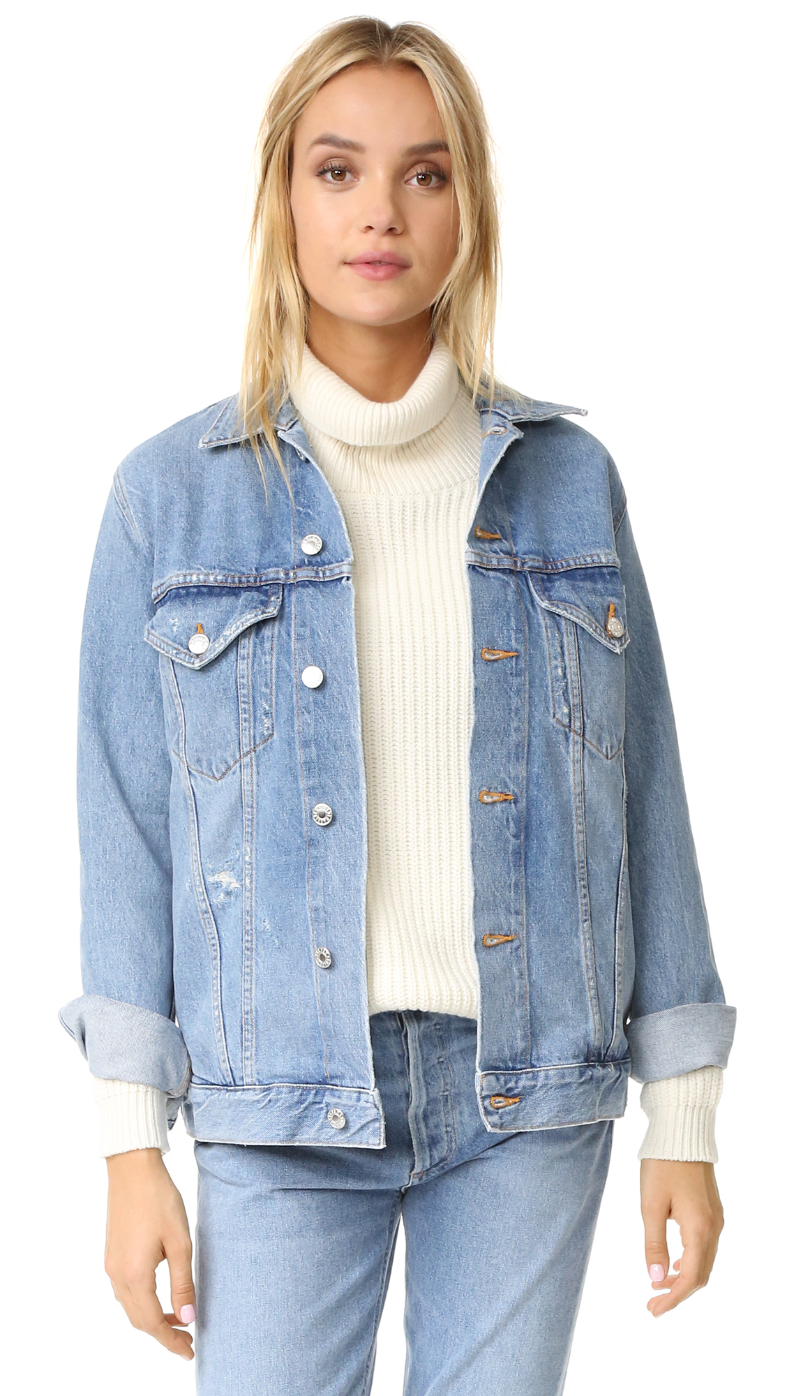 Agolde Jessie Oversized 90S Jacket - Brooklyn at Shopbop