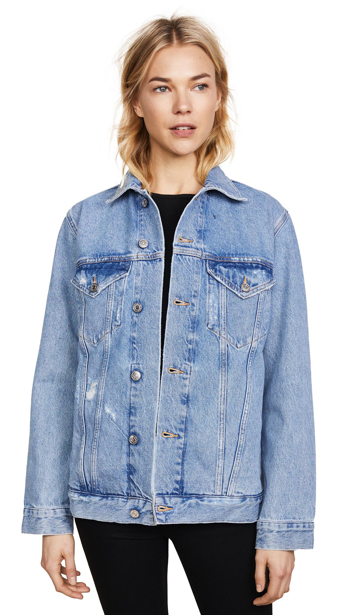 AGOLDE Jessie Oversized 90s Jacket - Brooklyn