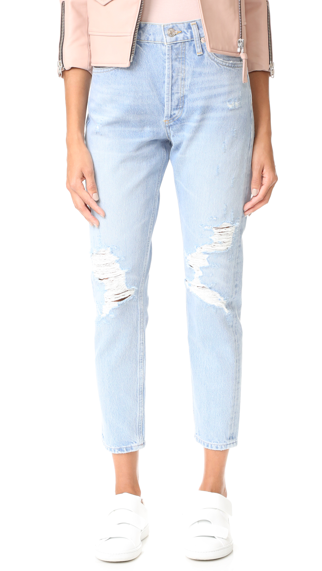 Agolde Jamie High Rise Classic Jeans - Ever-More at Shopbop