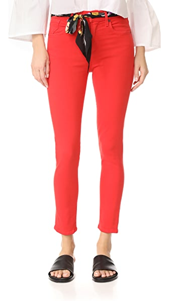 AGOLDE Sophie High Rise Cropped Jeans - Glow