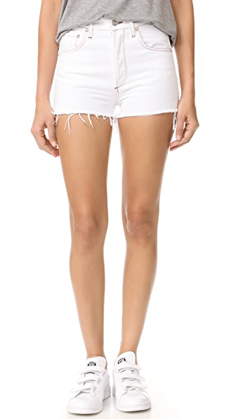 AGOLDE Jaden High Rise Cutoff Shorts