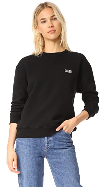 AGOLDE x A$AP Ferg Pull Over Sweatshirt - Black