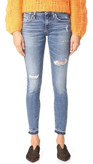 AGOLDE Lara Low Rise Skinny Jeans