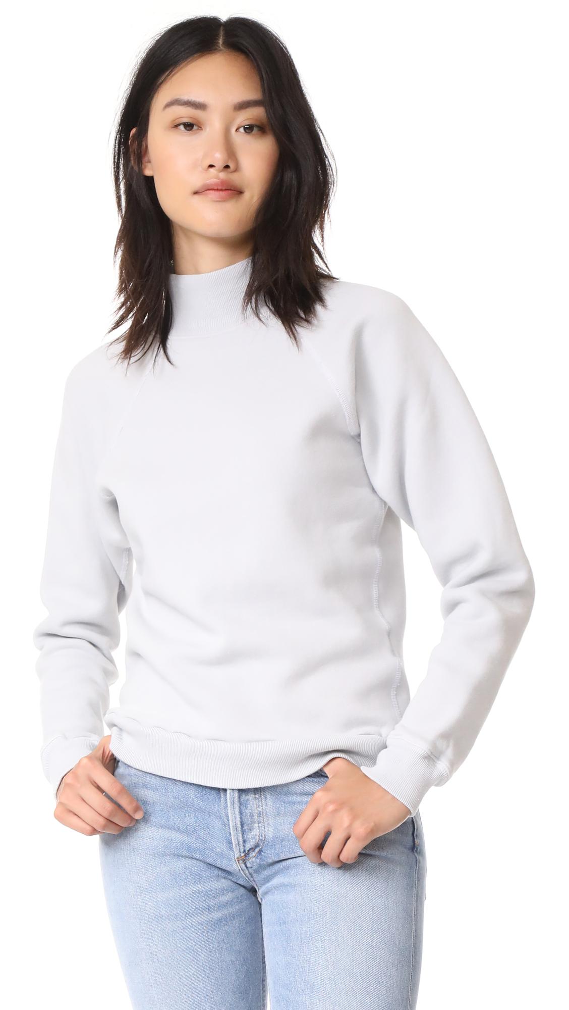 AGOLDE Turtle Neck Sweatshirt - Reflection Grey