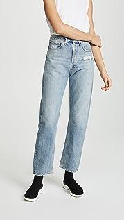 AGOLDE Облегающие джинсы со средней посадкой в стиле 90-х гг.