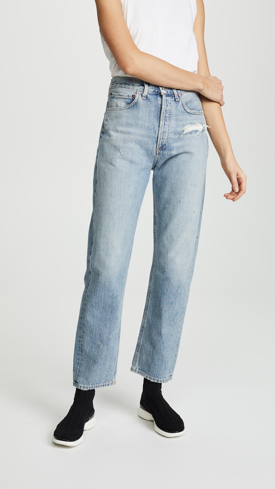 89daa70d78559a AGOLDE 90s Fit Mid Rise Jeans   SHOPBOP