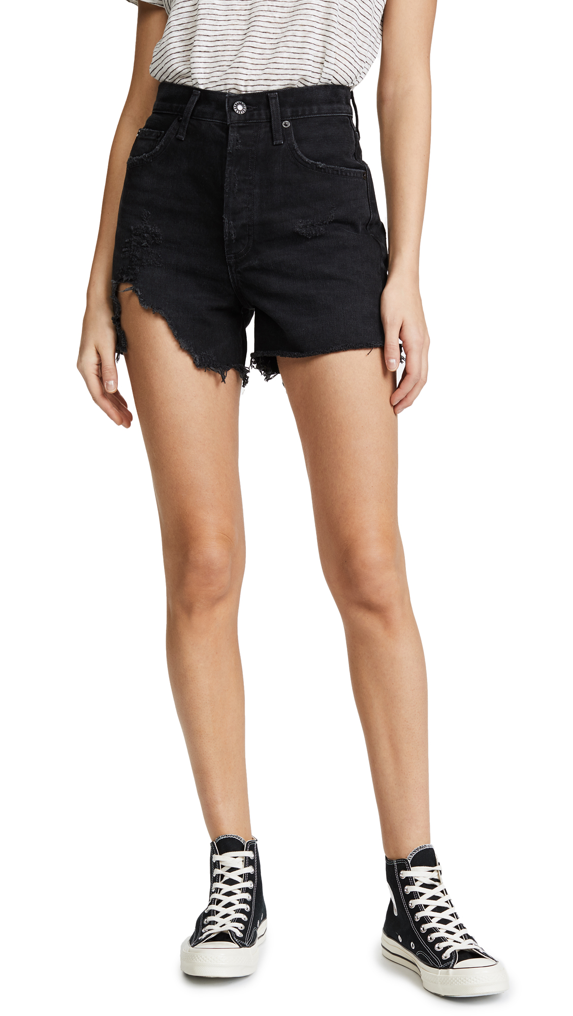 AGOLDE The Dee Ultra High Rise Shorts