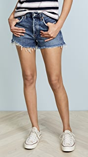 AGOLDE Parker Vintage Loose Fit Cutoff Shorts