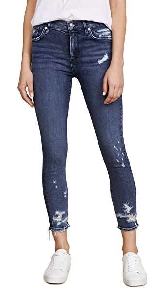 AGOLDE Sophie Cropped Skinny Jeans In Paradox